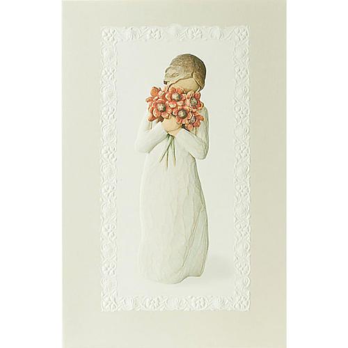 Willow Tree Card- Surrounded by love (moja miłość) 21 X 14 1