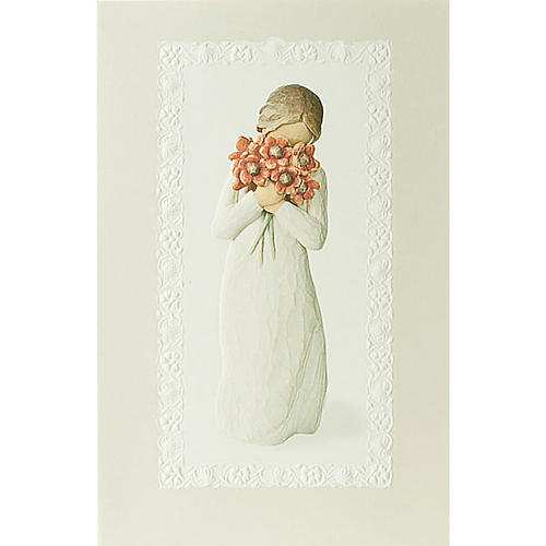 Willow Tree Card - Surrounded by love 21x14 1