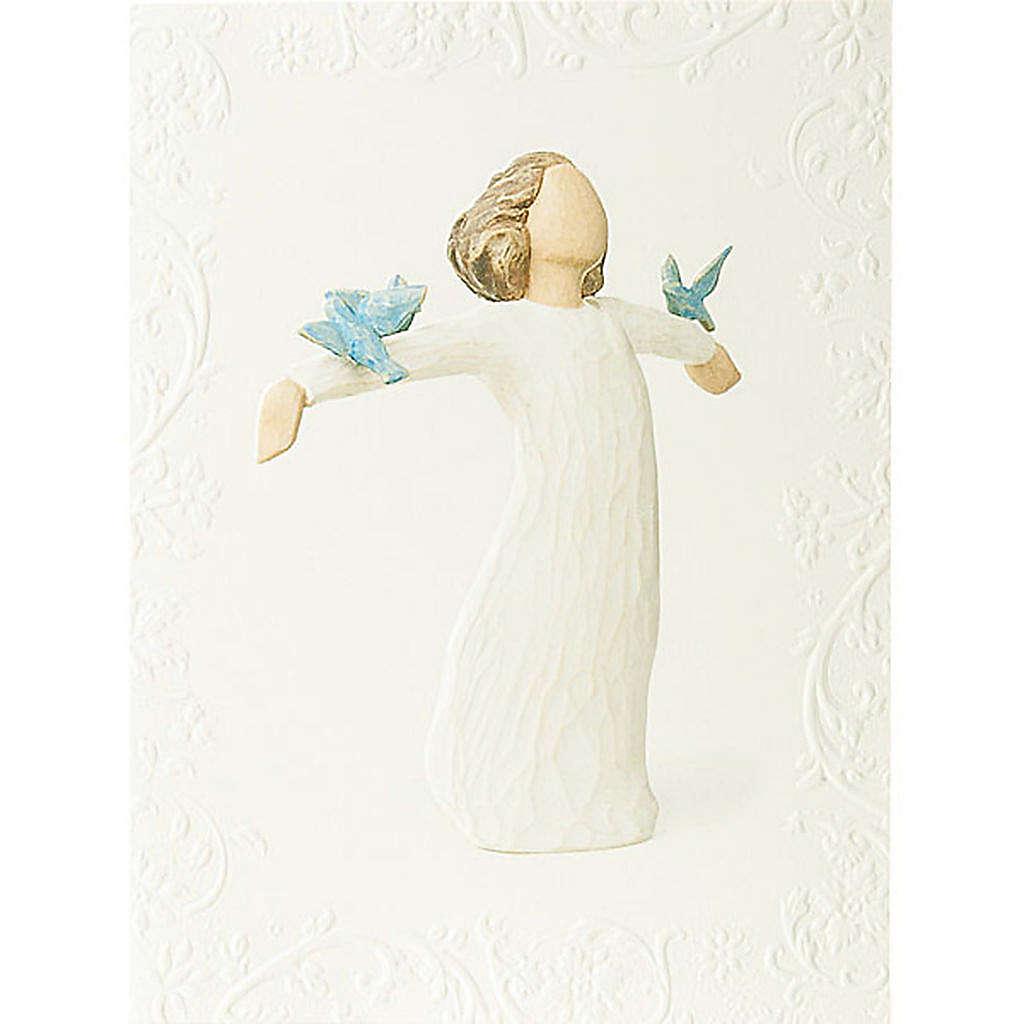 Willow Tree Card- Happiness (wolność) 14 X 10,5 4
