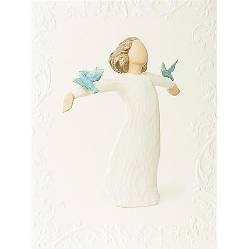 Willow Tree Card- Happiness (wolność) 14 X 10,5 1