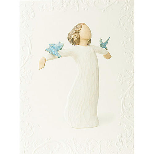 Willow Tree Card - Happiness 14x10,5 1