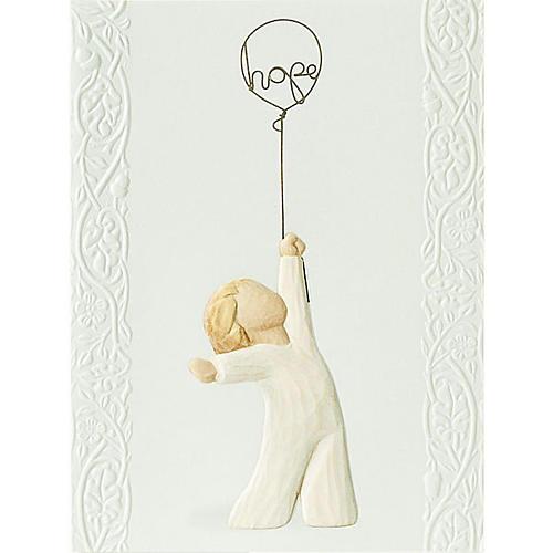 Willow Tree Card - Hope (la speranza) 14x10,5 1