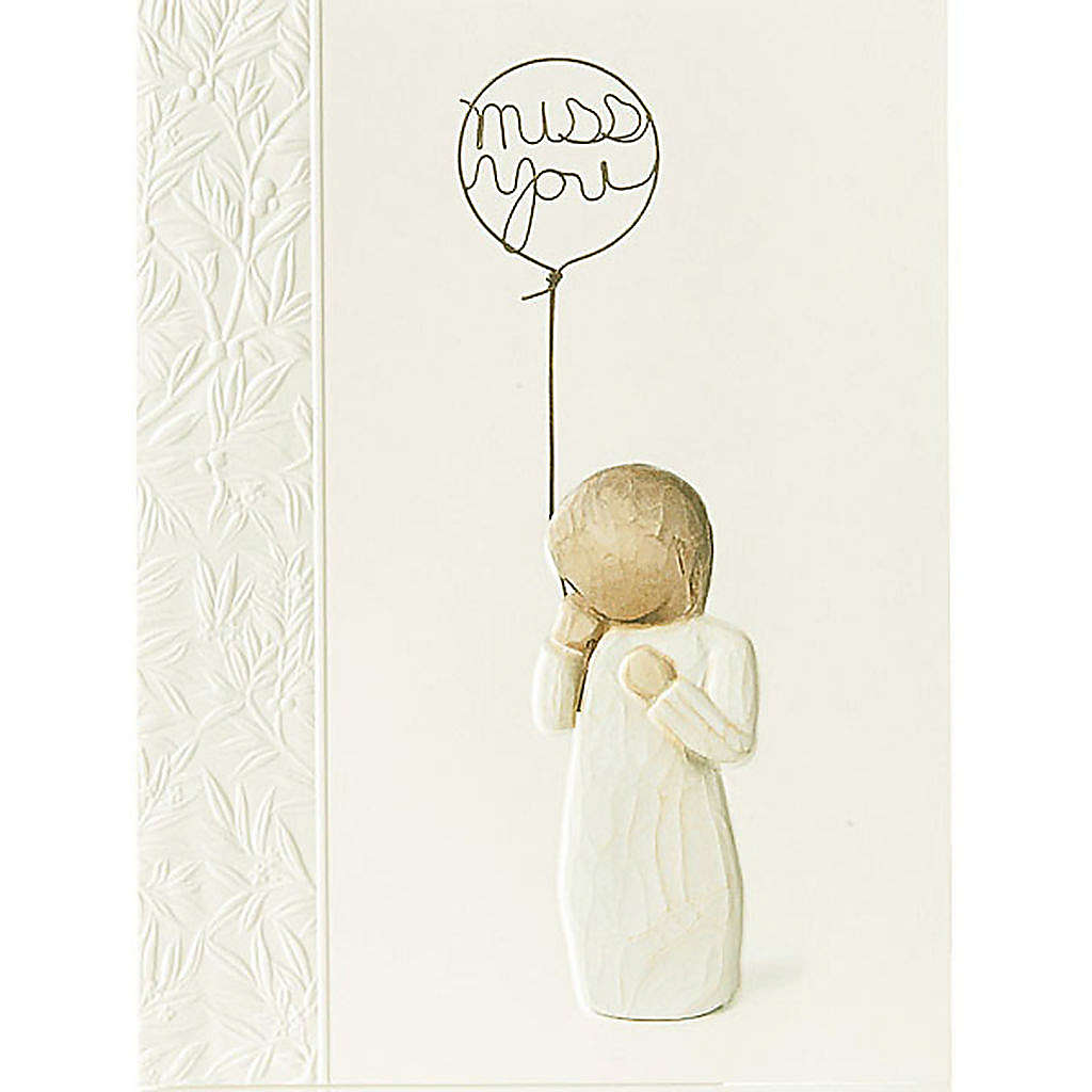 Willow Tree Card - Miss You 14x10,5 4