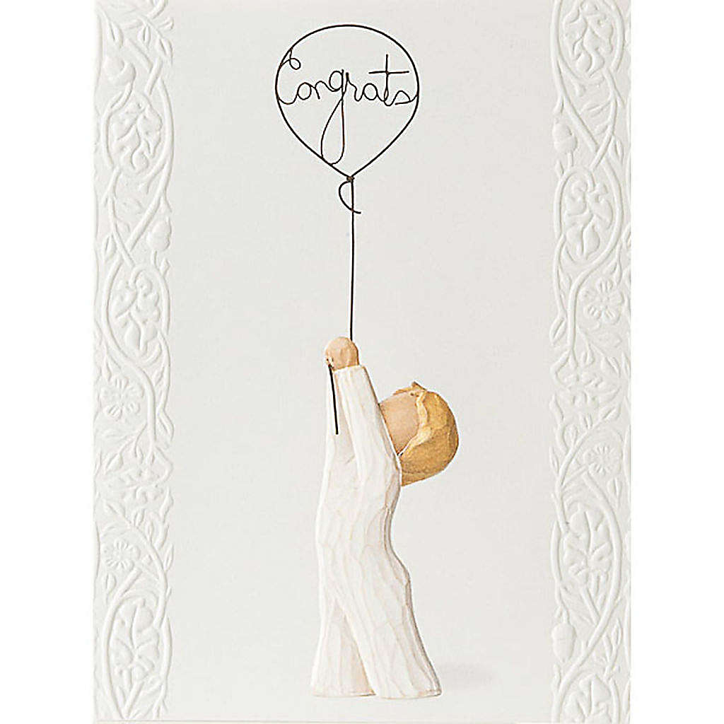 Willow Tree Card -  Congratulations (felicitaciones) 14x10,5 4
