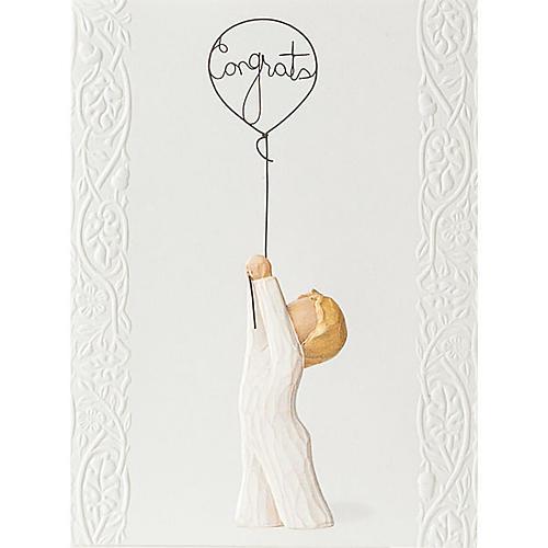 Willow Tree Card - Congratulations (congratulazioni!) 14x10,5 1