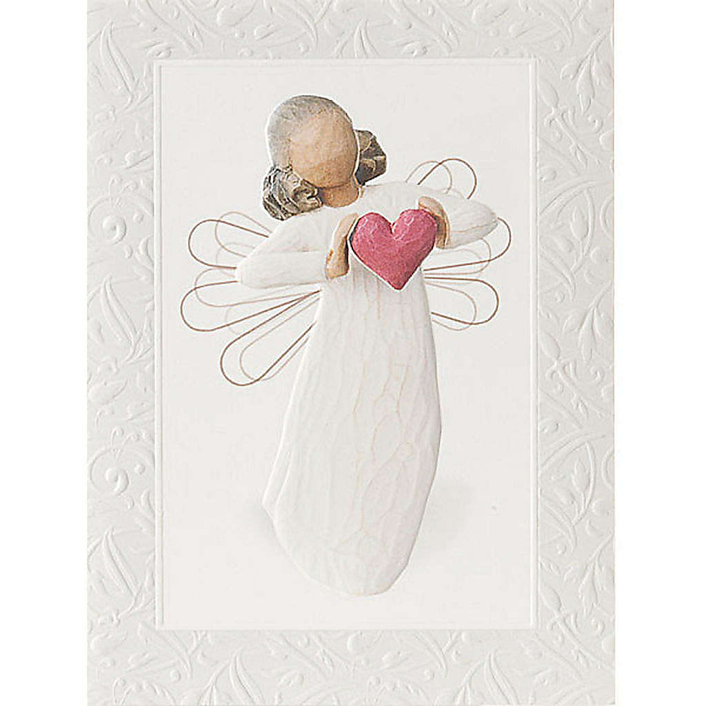 Willow Tree Card - With love (con amore) 14x10,5 4