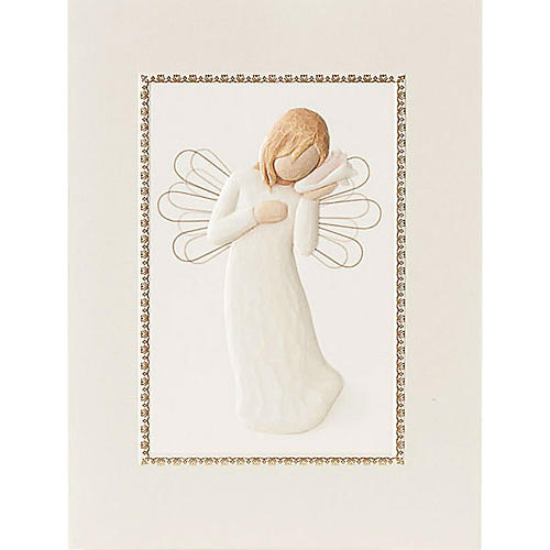 Willow Tree Card- Thinking of You (mysląc o Tobie) 14 X 10,5 1