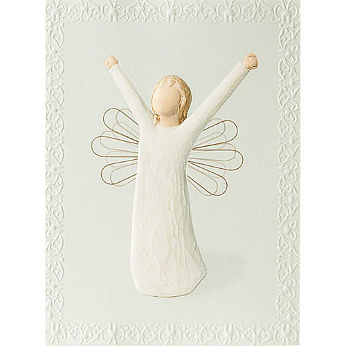 Willow Tree Card- Courage (duch odwagi) 14 X 10,5 1