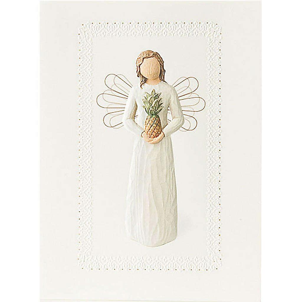 Willow Tree Card - Welkoming Angel 14x10,5 4