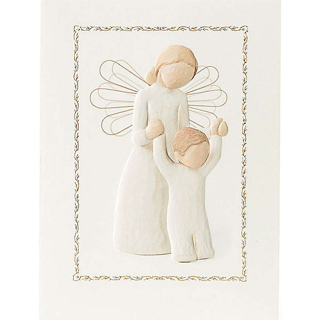 Willow Tree Card - Guardian Angel (Angelo Custode) 14x10,5 4