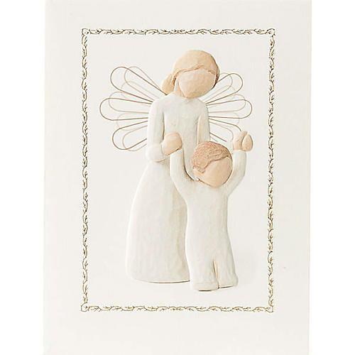 Willow Tree Card - Guardian Angel (Angelo Custode) 14x10,5 1