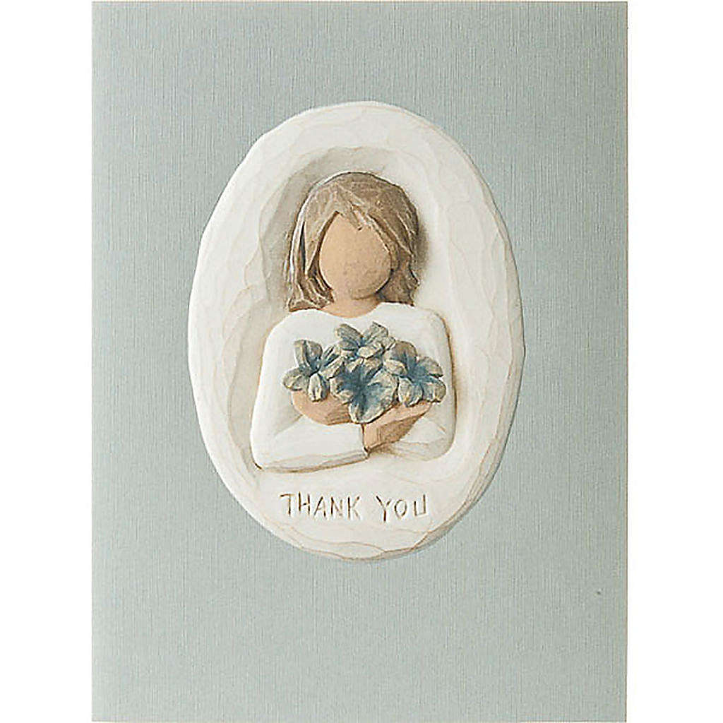 Willow Tree Card - Thank You (ringraziamento) 14x10,5 4