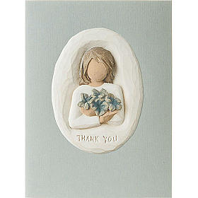 Willow Tree Card - Thank You (ringraziamento) 14x10,5 s1