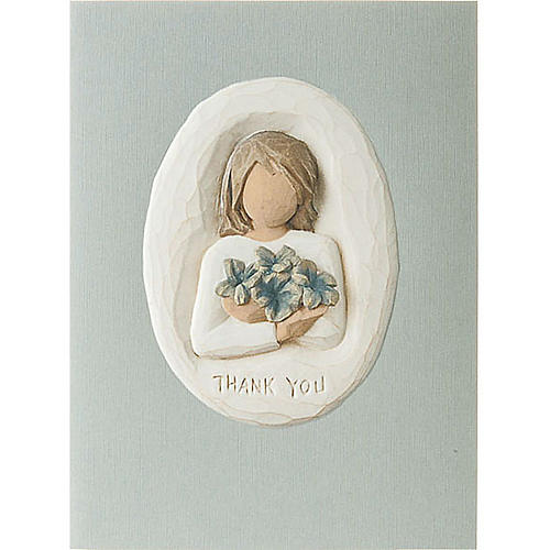 Willow Tree Card - Thank You (ringraziamento) 14x10,5 1