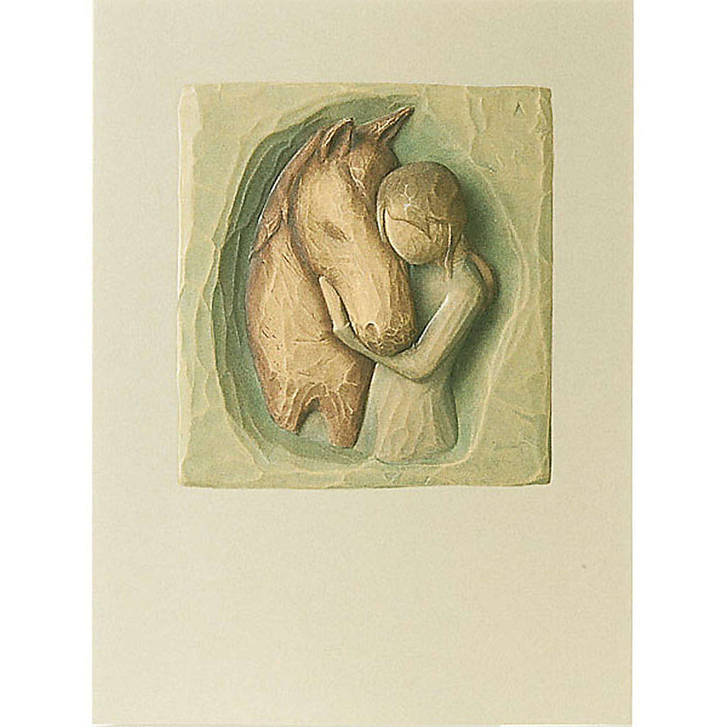 Willow Tree Card - Quiet Strenght (il mio amico) 14x10,5 4