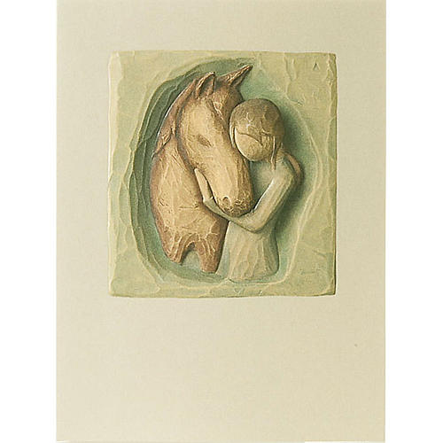 Willow Tree Card - Quiet Strenght (il mio amico) 14x10,5 1