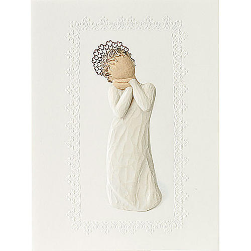 Willow Tree Card - Angel Love 14x10,5 1