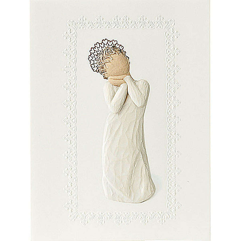 Willow Tree Card - Angel Love (angelo dell'amore) 14x10,5 4