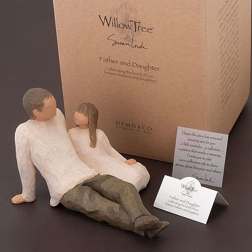 Willow Tree - Father and Daughter (padre con figlia) 4