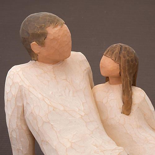 Willow Tree - Father and Daughter (padre con figlia) 3