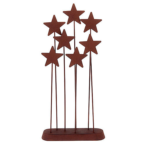 Willow Tree - Metal Star Backdrop 1