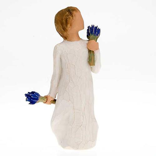 Willow Tree - Lavender Grace (bimba con lavanda) 1