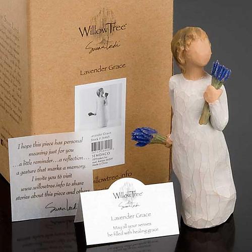 Willow Tree - Lavender Grace (bimba con lavanda) 5