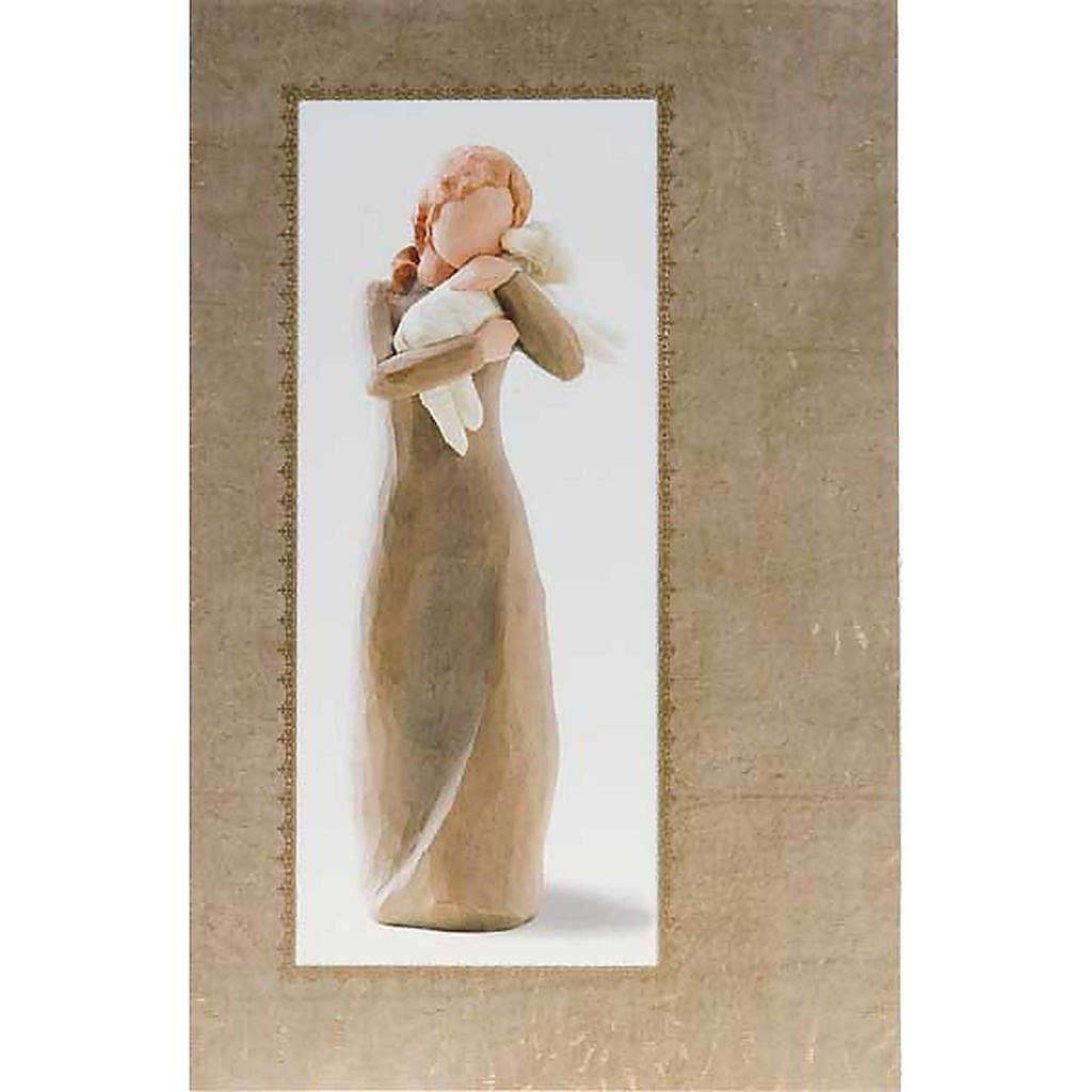 Willow Tree Card - Peace on Earth (ragazza con agnello) 4