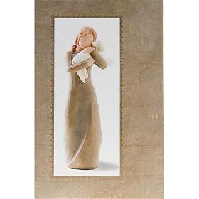 Willow Tree Card - Peace on Earth (ragazza con agnello) s1