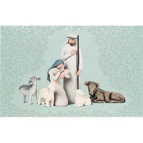 Willow Tree Card - Nativity (natividad) s1