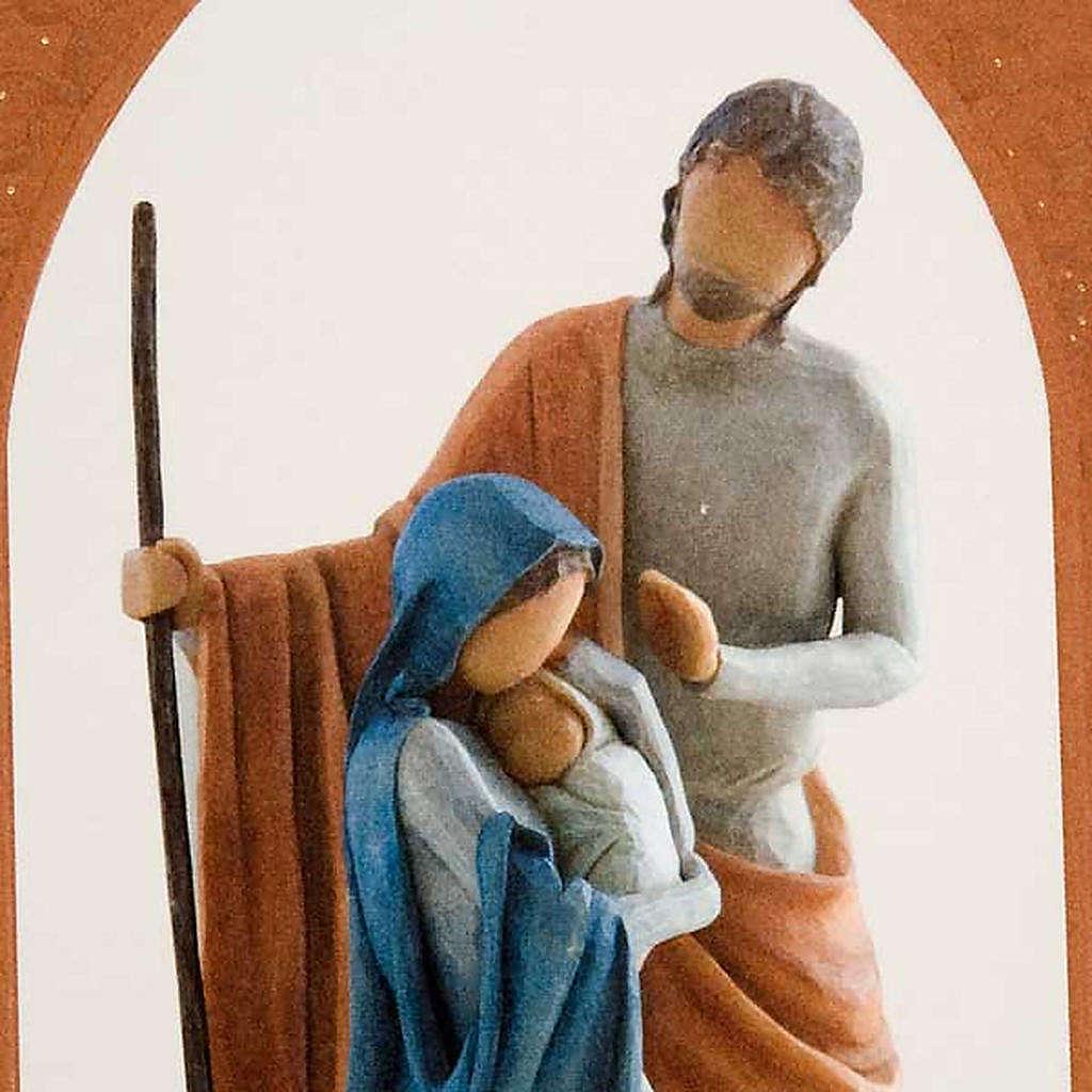 Willow Tree Card - Christmas Story (sacra famiglia) 4