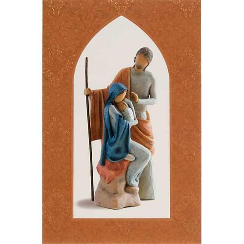 Willow Tree Card - Christmas Story (sacra famiglia) 1