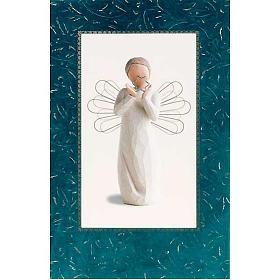 Carte Willow Tree ange avec étoile - Bright Star s1