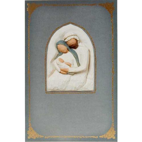 Willow Tree Card - Holy Family (la sacra famiglia) 1