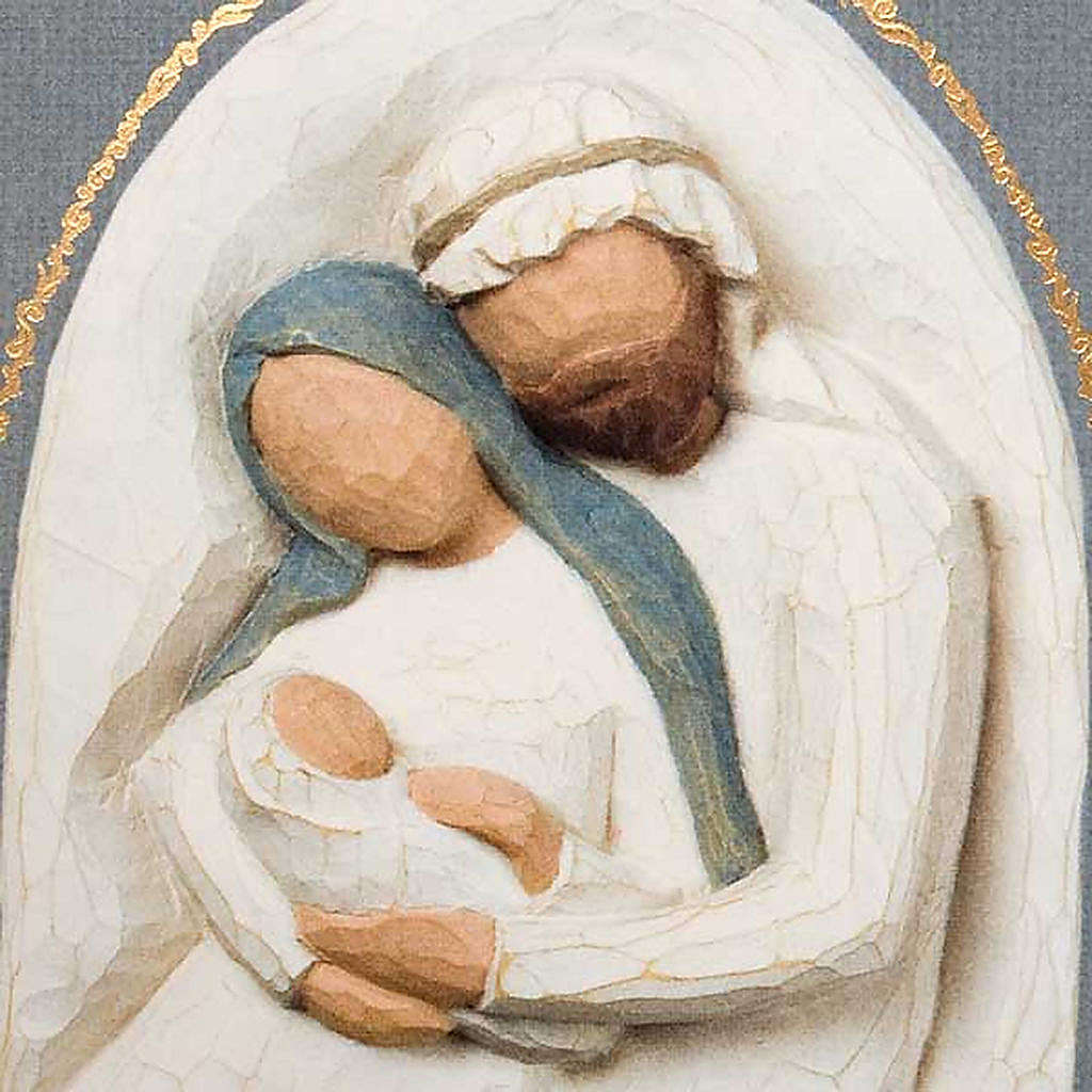 Willow Tree Card: Holy Family greeting card 21x14 4