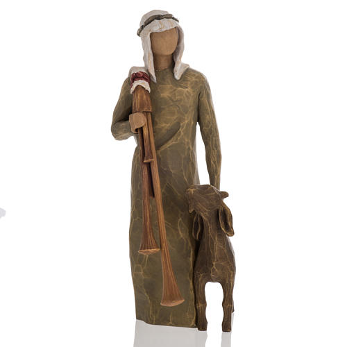 Willow Tree - Shepherd with bagpipe (berger) 1