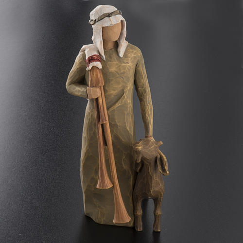 Willow Tree - Shepherd with bagpipe (berger) 2