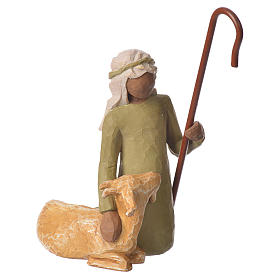 Willow Tree - Shepard and stable Animal (Pastor con Animales) 19 cm s2