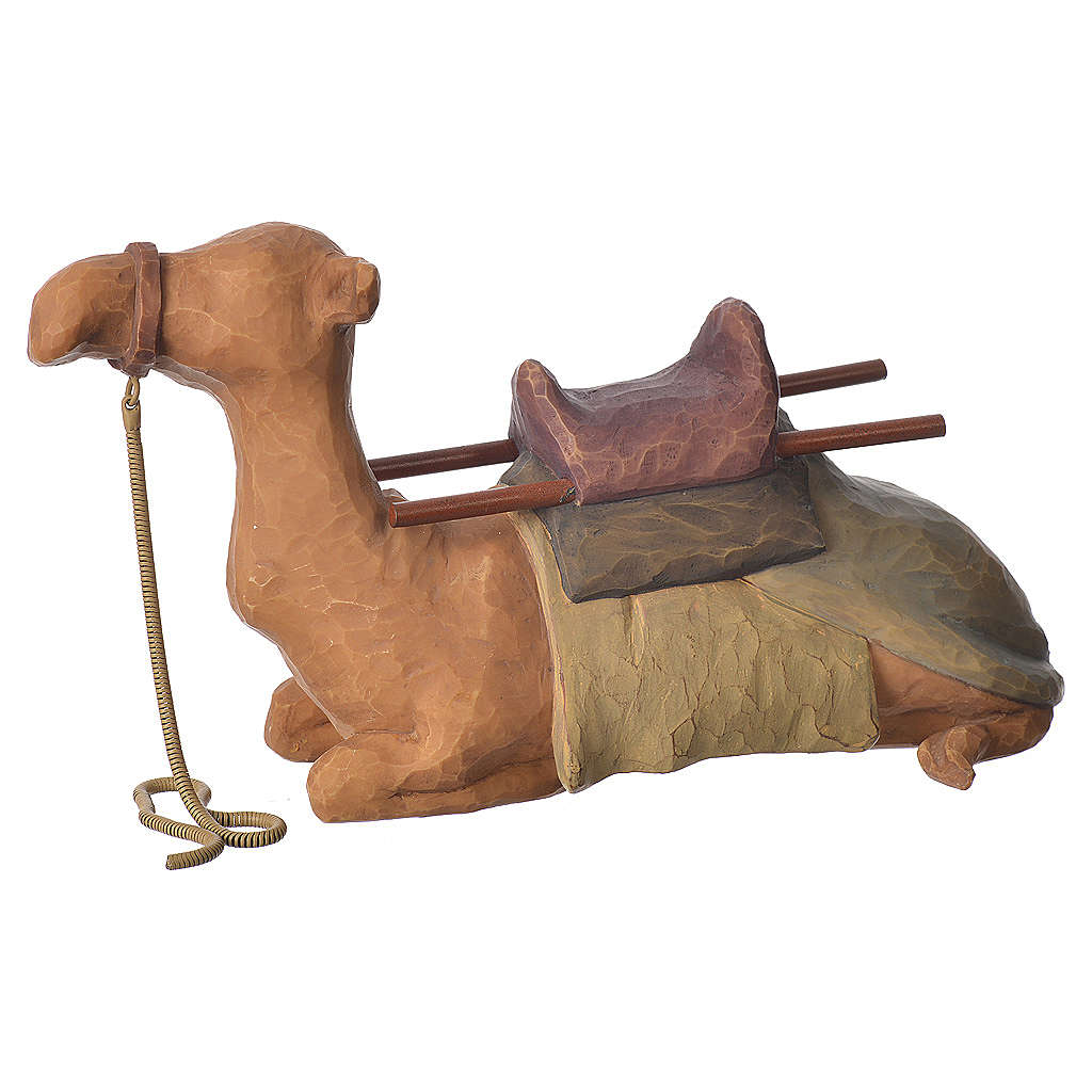 Willow Tree - Shepard and stable Animals (Pastore con animali) 19cm 4