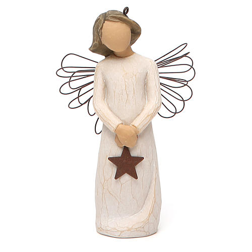 Willow Tree - Angel of Light (Angelo della Luce) Ornament 1